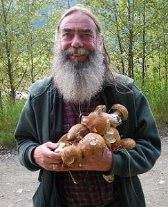 Paul Kroeger with boletes